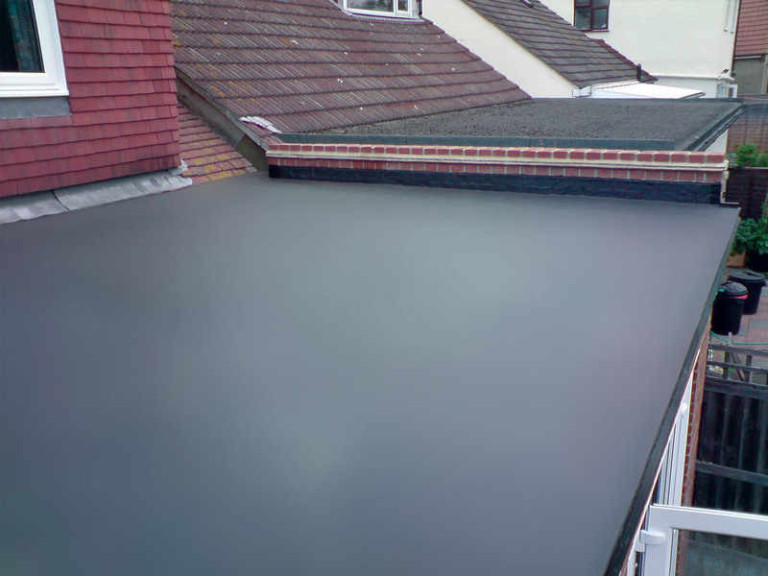image of flat roof